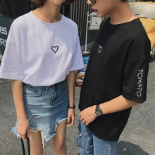 [PRE-ORDER] Men Couple Women Love Shape Short Sleeve T-Shirt