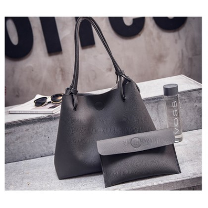 [READY STOCK] Women Buy 1 Big Free 1 Small Shoulder Hand Bag