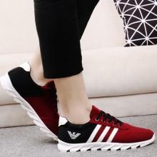 [PRE-ORDER] Men Lacing Up Jogging Running Sport Shoes