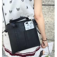 [PRE-ORDER] Women Retro Casual Pocket Handbag Shoulder Bag