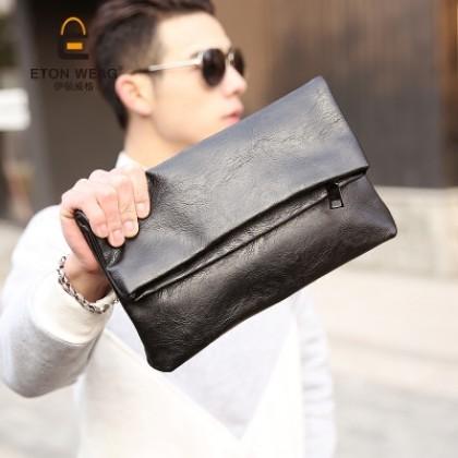 Men PU Leather IPad Business Handbag