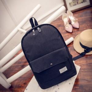 [PRE-ORDER] Men Canvas Basic Simple Design Backpack