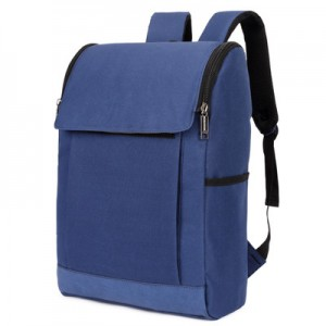 [PRE-ORDER] Men Canvas Zipped PC Laptop IPAD College Student Backpack