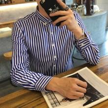 [PRE-ORDER] Men Office Working Plan Long Sleeve Shirt