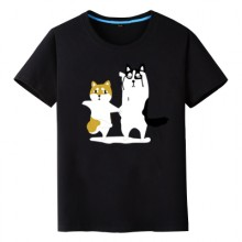 [PRE-ORDER] Men Women Short-Sleeved Dancing Animals Couple T
