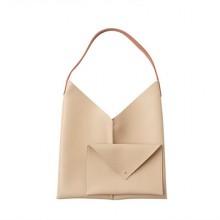 [PRE-ORDER] Women Korean Dongdaemun Casual 2 in 1 Soft Shoulder Bag