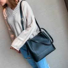 [PRE-ORDER] Women Shoulder Messenger Simple Plain Handbag Sling Bag
