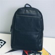 [PRE-ORDER] Men Backpack PU Leather Student Travel Bag