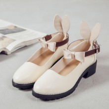 [PRE-ORDER] Women Princess Lolita Cute Round Head Shoes