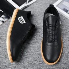 [PRE-ORDER] Men England Korean Waterproof Working PU Leather shoes