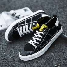 [PRE-ORDER] Men Korean Style Tide Canvas Student Sneaker Shoes