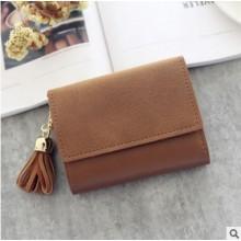 [PRE-ORDER] Women Fold Multi-functional Short Buckle Wallet