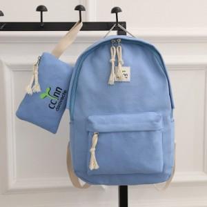 [PRE-ORDER] Women High School Canvas Backpack College Backpack