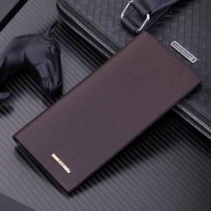 Men Multi-card Long Section Casual Fold Wallet