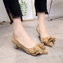 [PRE-ORDER] Women Candy-colored Pointed Shallow Mouth High Heels