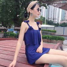[PRE-ORDER] Women Spaghetti Strap Top Ruffle Skirt Swimsuit