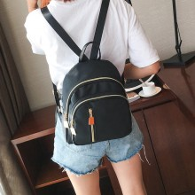 [PRE-ORDER] Women College Wind Nylon Canvas Wild Small Backpack