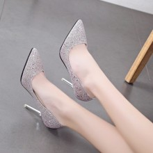 [PRE-ORDER] Women New Autumn And Winter Pointy Night Girls Heels, Bridal Shoes