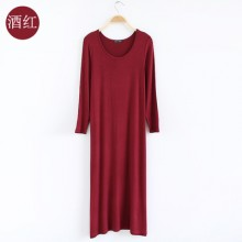 [PRE-ORDER] Women Korean version of the loose spring and autumn straight section