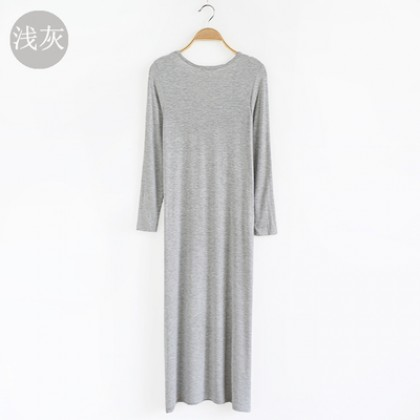 Women Korean version of the loose spring and autumn straight section