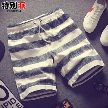 Men New Summer Nine Points Casual Pants