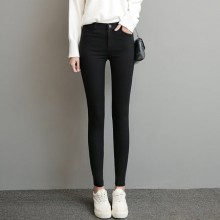 [PRE-ORDER] Women Leggings Autumn and Winter Wild  Black Pants