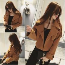 [PRE-ORDER] Women Autumn and Winter Long-Sleeved Woolen Jacket