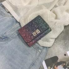 [PRE-ORDER] Women Korean Version of Retro Folding Mini Purse