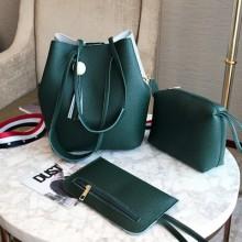 [PRE-ORDER] Women Korean Three-Piece Shoulder Messenger Bag