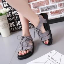 [PRE-ORDER] Women Summer Exposed Open Toe Thick Bottom Sponge Cake Sandals