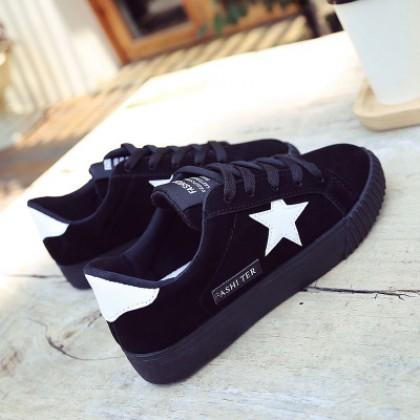 Women Korean Casual Shoes, Girls