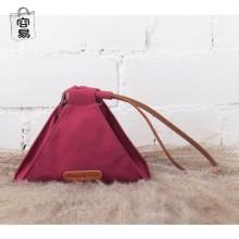 [PRE-ORDER] Women Original Canvas Dumplings Bag Triangle Handbag