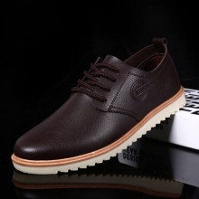 [PRE-ORDER] Men Business Casual Black Leather Shoes