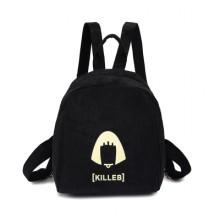 [PRE-ORDER] Korean Mini Small Double Back Corduroy Backpack