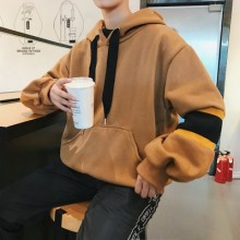 [PRE-ORDER] Men Autumn and Winter New Plus Velvet Sweater