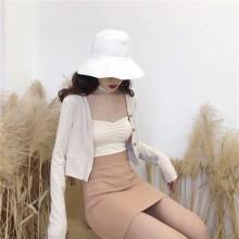 [PRE-ORDER] Women Chic High Waist Slim Bag Hip Knit Skirt