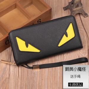 [PRE-ORDER] Men Small Monster Wallet Long Zipper Handbag
