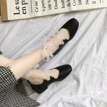[PRE-ORDER] Women  Spring And Summer New Straps Sandals Ballet Shoes