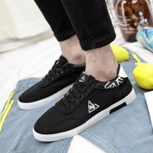 [PRE-ORDER] Men Spring Low Classic Flat White Cloth Shoes