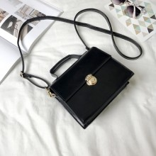 [PRE-ORDER] Women New Chic Chain Retro Lock Square Small Shoulder Bag