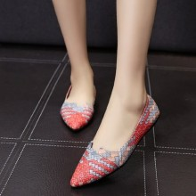 [PRE-ORDER] Women Spring Summer New Pointed Flat Shoes With Shallow Mouth