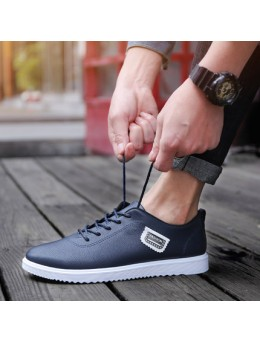 [PRE-ORDER] Men's Casual Waterproof Non-Slip of the Trendy Wild Low to Help Work Shoes
