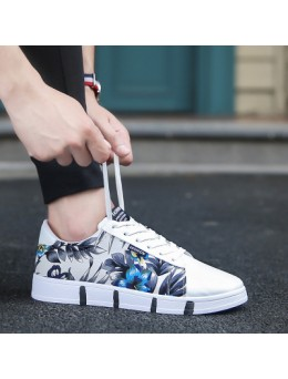 [PRE-ORDER] Men Casual Canvas and Four Seasons Trend Increased Cloth Tide Shoes