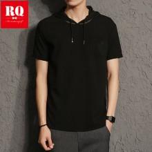 [PRE-ORDER] Men  new mesh hooded short-sleeved breathable  T-shirt