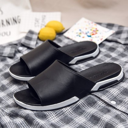 Men's Soft Summer Wear Outside The Home Cool Slippers