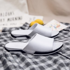 [PRE-ORDER] Men's Soft Summer Wear Outside The Home Cool Slippers