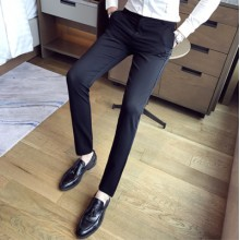 [PRE-ORDER] Men's Formal Business Straight Suit Long Pants