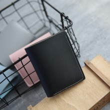 [PRE-ORDER] Women Two Fold Simple Ultra-thin Mini Short Wallet