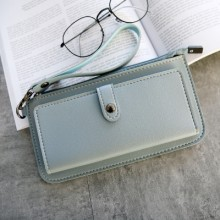 [PRE-ORDER] Women Long Section Simple Money Multi-function Two Fold Wallet