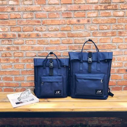 Women Korean College Canvas High-capacity Backpack Student Laptop Bag